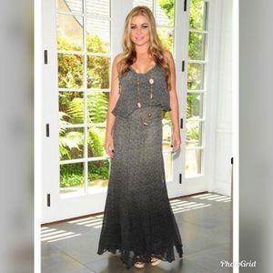 Gypsy 05 S Fiona silk ombré maxi dress